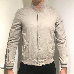 All Saints men's light weight bomber jacket